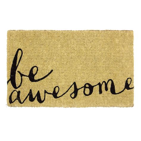Design A Doormat by Doormat Designs Be Awesome Doormat S Of Kensington