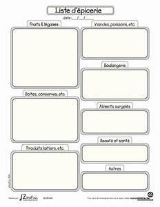Listes De Courses : calendrier semaine a imprimer recherche google ~ Nature-et-papiers.com Idées de Décoration