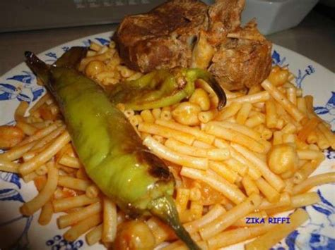 recettes de pates macaronis arabes cuisine algerienne