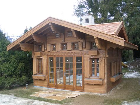 Chalet Kit Homes Small House Plans Modular Lake Rustic