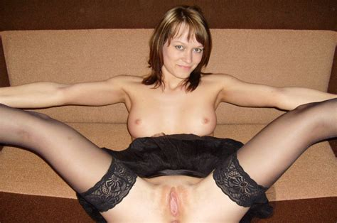 Russian Milf In Stockings Shows Pussy Russian Sexy Girls