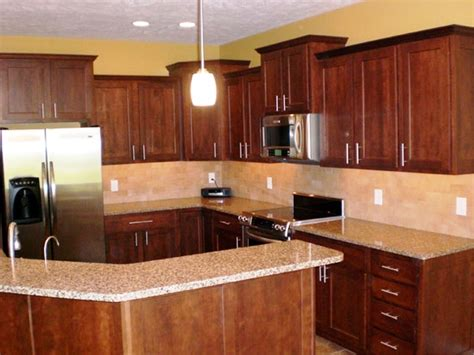 used kitchen paint colors with oak cabinets smith design