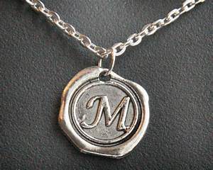 Christmas gift personalized gift jewelry initial necklace for Mens letter necklace