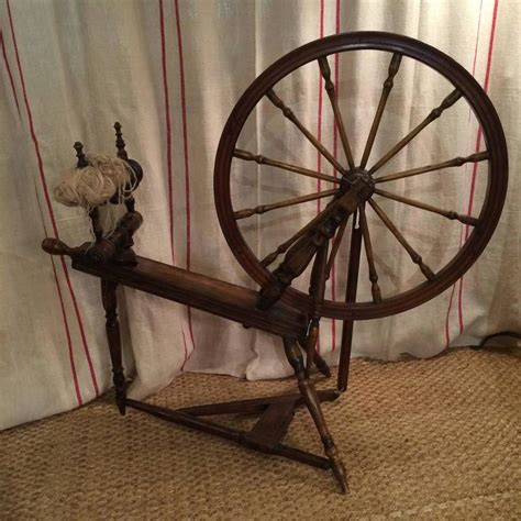 19th century spinning wheel for sale at 1stdibs