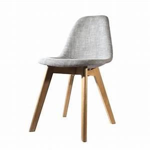 Tissu Pour Chaise : forum plus chaise scandinave tissu et pied bois ~ Teatrodelosmanantiales.com Idées de Décoration