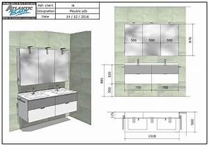 renovation avec un meuble suspendu blanc et gris alu With porte d entrée alu avec plan vasque suspendu salle de bain