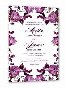 shining floral 5x7 wedding invitations shutterfly With fall wedding invitations shutterfly