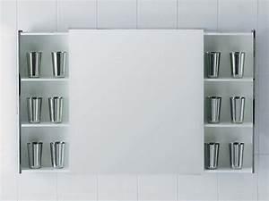 Miroir Rangement Salle De Bain : left right miroir avec rangement by ceramica flaminia design ludovica roberto palomba ~ Teatrodelosmanantiales.com Idées de Décoration
