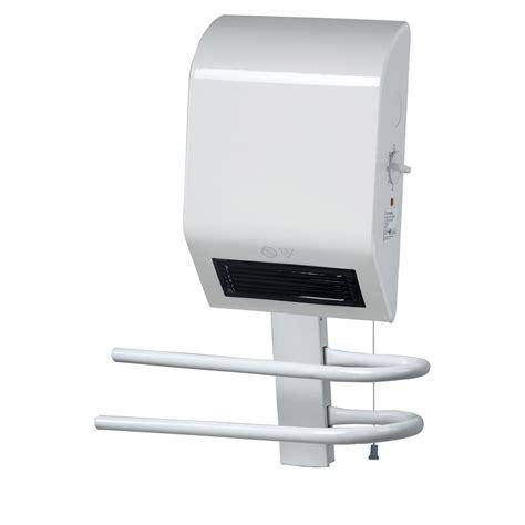 radiateur electrique salle de bain soufflant radiateur soufflant salle de bain fixe 233 lectrique triomph bh1600gk 1600 w leroy merlin