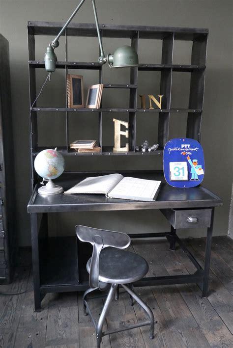 habitat chaise de bureau meuble metier grand bureau tri postal industriel atelier loft