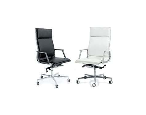 Bureau Cuir - fauteuil de bureau nulite cuir pleine fleur dossier haut