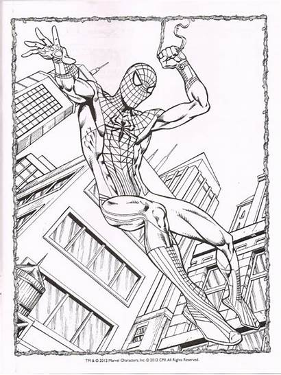 Spiderman Coloring Pages Amazing Spider Homecoming Drawing