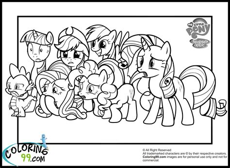 pony clipart colouring page pencil