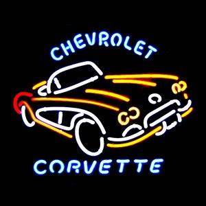 CHEAP Chevrolet Corvette C1 Neon Sign