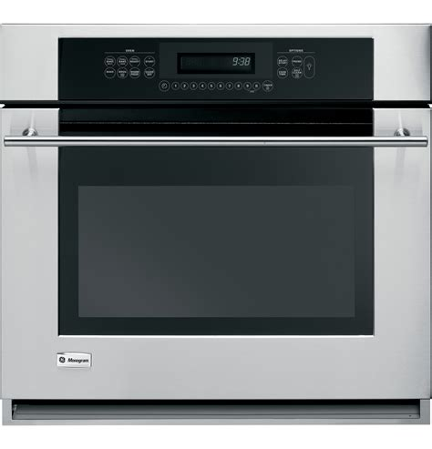 zetsmss ge monogram  built  electric single oven  monogram collection