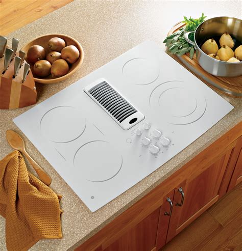 ge profile series  downdraft electric cooktop pptnww ge appliances