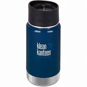 Klean Kanteen Wide Mouth 12 oz. Insulated Bottle with Cafe ...