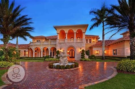 Opulent Mansions by Opulent Mediterranean Home 4 750 000 Pricey Pads
