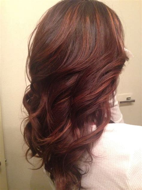 1000 Ideas About Red Brown Highlights On Pinterest