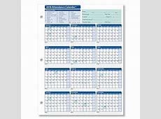 Employee Attendance Calendar 2018 Free Tracker PDF Excel