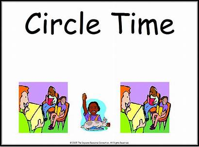 Circle Preschool Clipart Signs Clip Area Center