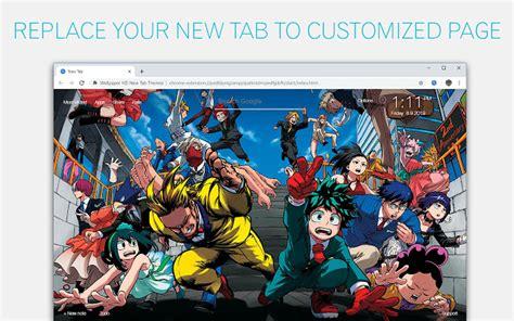 boku  hero academia custom  tab chrome web store