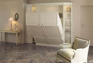 Lit Dans Armoire : lit dans une armoire maison design ~ Premium-room.com Idées de Décoration