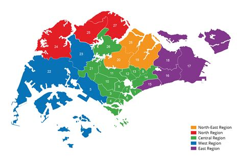 Know which district you are in based on postal code ...