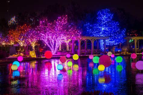 Denver Botanic Gardens Lights blossoms of light denver botanic gardens