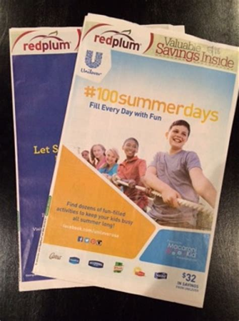 19933 Redplum Coupons Sunday Paper by No Redplum Inserts In Ta Bay Starting June 1st