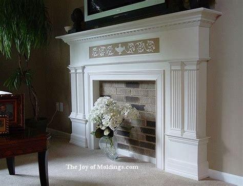 faux fireplace mantels ideas  pinterest fake