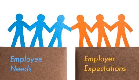 employee expectations bridge the gap between employee needs employer expectations
