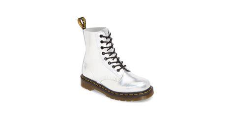 Martens Pascal Metallic Combat Boot Taylor Swift