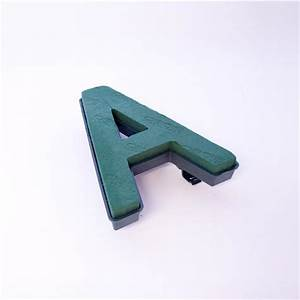 quick clip letter a oasis foam oasis item code 8171 With large floral foam letters