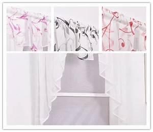 Gardine Kinderzimmer Transparent : gardinen k che scheibengardinen kleinfenster kleinfenstergardine 80 100 120 140 ebay ~ Watch28wear.com Haus und Dekorationen