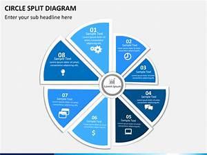 Circle Split Diagram Powerpoint
