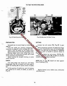 Singer 500 And 503 Sewing Machine Service Manual  Here Are Just A Few Examples Of What U2019s