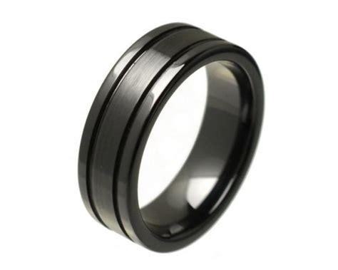 black mens wedding rings mens ring mens wedding ring promise rings for him 1859