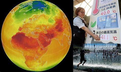 ฤดูร้อนลุกเป็นไฟ ! แผนที่ดึงข้อมูลทั่วโลกชี้อุณหภูมิระอุ ...