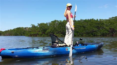 Bass Cat Boat Lengths by Slayer Propel 13 Pedal Fishing Kayak Watercraft