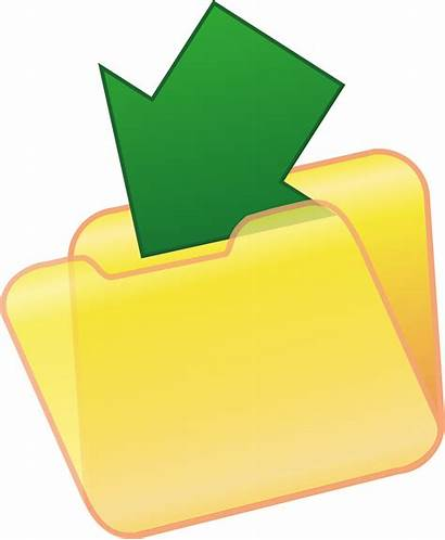 Save Clipart Folder Document Icon Clip Icons