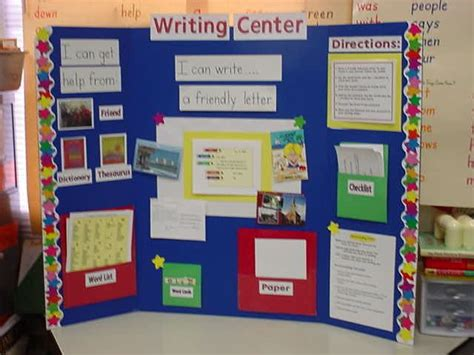 learning stations writing center ideas  writing