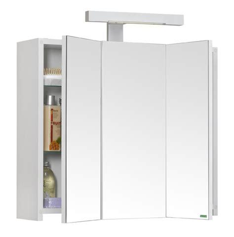 les concepteurs artistiques armoire de toilette miroir 3 portes