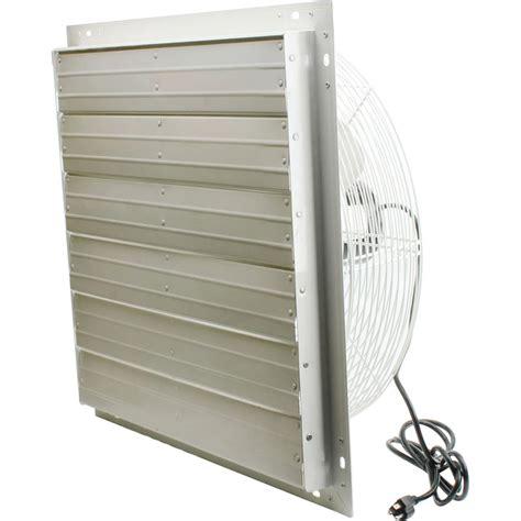 variable speed exhaust fan valutek direct drive exhaust fan w shutters 20