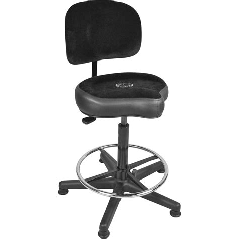 roc n soc lunar extended gas lift throne with foot ring
