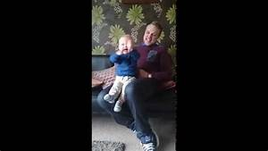 babys priceless reaction to dads nottingham forest ...