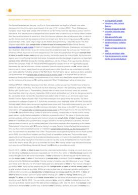 printable sample amendment letter forms  templates