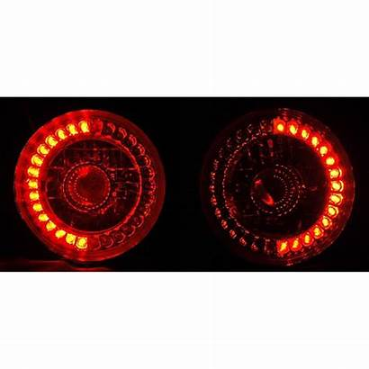 Led Halo Eyes Angel Ring Headlight Projector