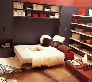 idees en photos pour comment choisir le meilleur lit pliant With tapis peau de vache avec canapé moderne gris