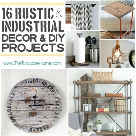vintage farmhouse kitchen decor style trend 16 rustic industrial decor ideas and diy